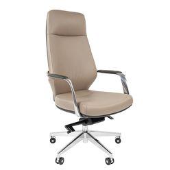 Кресло руководителя Chairman 920 кожа/экокожа темно-серый