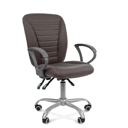 Кресло оператора Chairman 9801 Эрго ткань 10-128 серый
