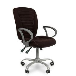 Кресло оператора Chairman 9801 Эрго ткань 10-356 черный