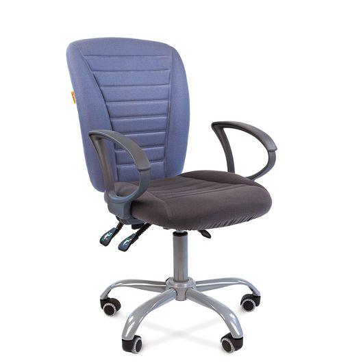 Кресло оператора Chairman 9801 Эрго ткань 10-128 серый/10-141 голубой