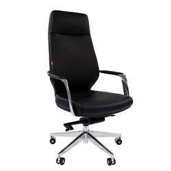 Кресло руководителя Chairman 920 кожа/экокожа черный