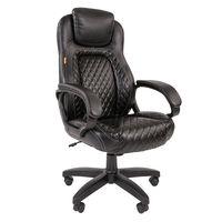 Кресло руководителя Chairman 432 экопремиум черный