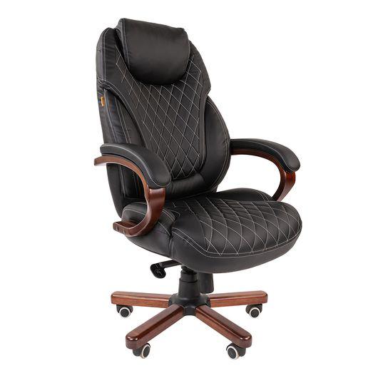 Кресло руководителя Chairman 406 экопремиум черный