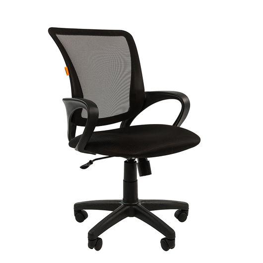 Кресло оператора Chairman 969 сетка/ткань черный