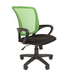 Кресло оператора Chairman 969 сетка/ткань зеленый/черный