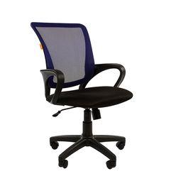 Кресло оператора Chairman 969 сетка/ткань синий/черный
