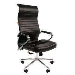 Кресло руководителя Chairman 700 экопремиум черный