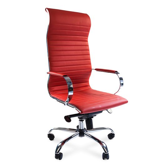 Кресло руководителя Chairman 710 экопремиум красный