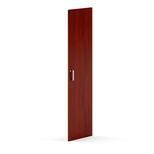 Дверь высокая с замком Skyland BORN В530 RZ бургунди