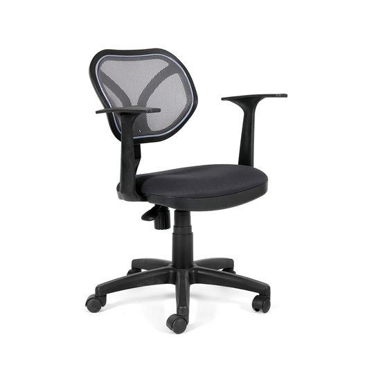 Кресло оператора Chairman 450 NEW сетка/ткань TW-12 серый