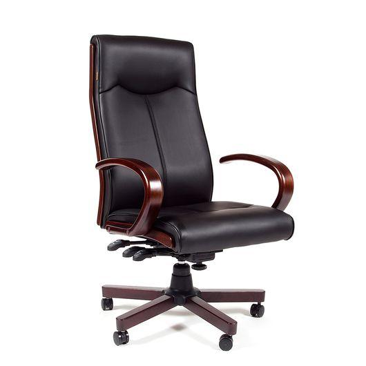 Кресло руководителя CHAIRMAN 411 экопремиум черный