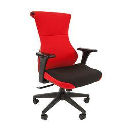 Кресло геймерское Chairman GAME 10 ткань черный/красный