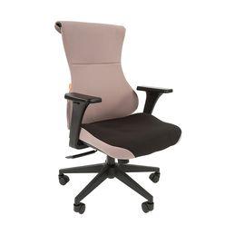 Кресло геймерское Chairman GAME 10 ткань черный/серый