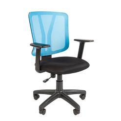 Кресло оператора Chairman 626 сетка/ткань синий/черный
