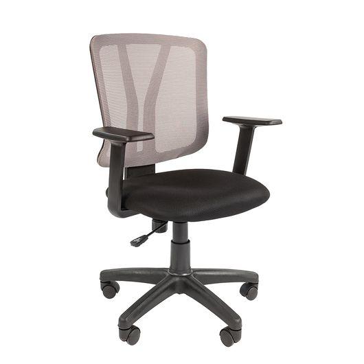 Кресло оператора Chairman 626 сетка/ткань серый/черный