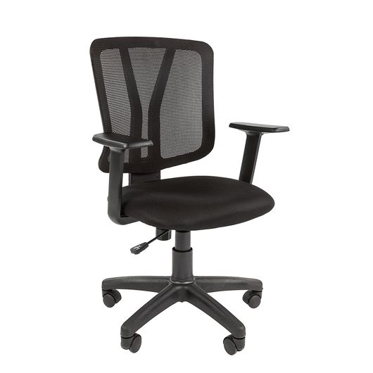 Кресло оператора Chairman 626 сетка/ткань черный