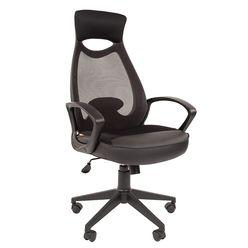 Кресло оператора Chairman 840 black сетка/ткань/экокожа черный