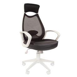 Кресло оператора Chairman 840 white сетка/ткань/экокожа черный