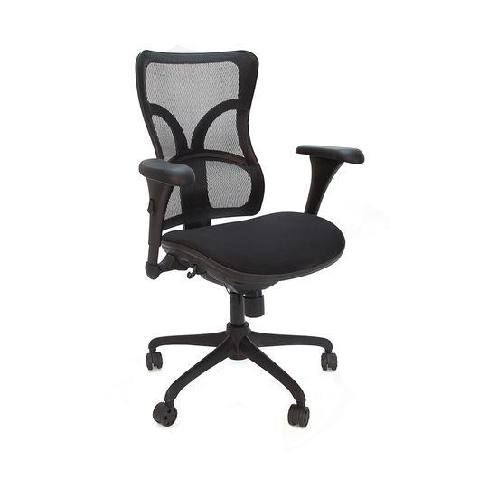 Кресло руководителя CHAIRMAN 730 сетка черная/ткань черная