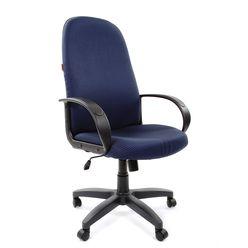 Кресло руководителя CHAIRMAN 279 ткань JP15-5 синяя