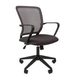 Кресло оператора Chairman 698 black сетка/ткань серый