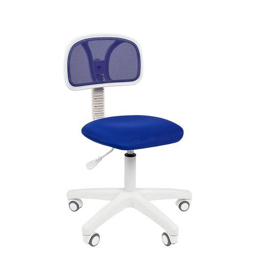 Кресло оператора Chairman 250 White сетка/ткань синий