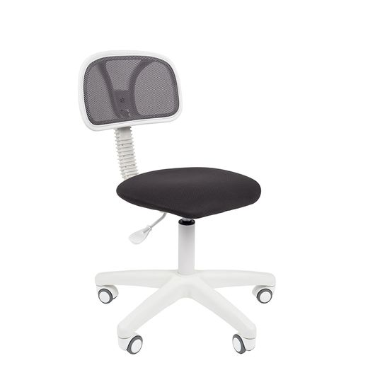 Кресло оператора Chairman 250 White сетка/ткань серый