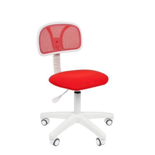 Кресло оператора Chairman 250 White сетка/ткань красный