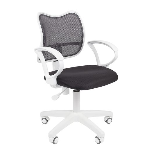 Кресло оператора Chairman 450 LT White сетка/ткань серый