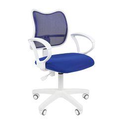 Кресло оператора Chairman 450 LT White сетка/ткань синий