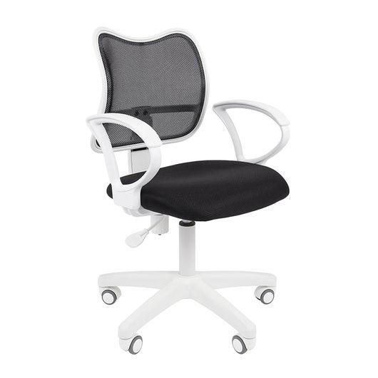 Кресло оператора Chairman 450 LT White сетка/ткань черный