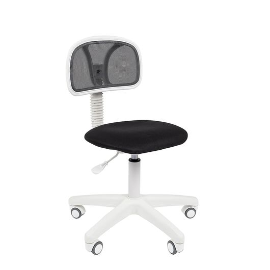 Кресло оператора Chairman 250 White сетка/ткань черный