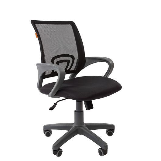 Кресло оператора Chairman 696 Grey сетка/ткань черный