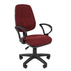 Кресло оператора Chairman 652 ткань 10-361 бордовый