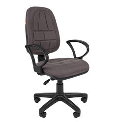 Кресло оператора Chairman 652 ткань 10-128 серый