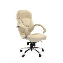 Кресло руководителя Chairman 430 кожа белый