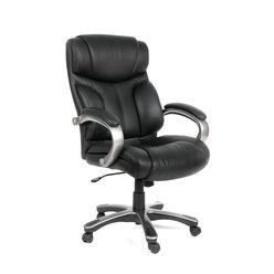 Кресло руководителя Chairman 435 кожа черный