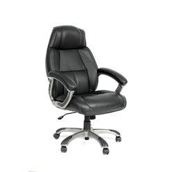 Кресло руководителя CHAIRMAN 436 кожа черная