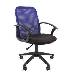 Кресло оператора Chairman 615 сетка/ткань синий/черный
