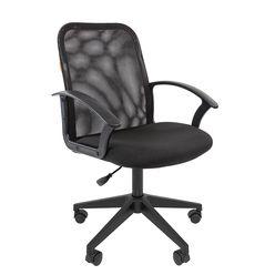 Кресло оператора Chairman 615 сетка/ткань черный