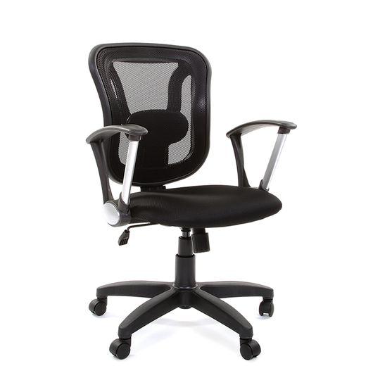 Кресло оператора CHAIRMAN 452 TG сетка черная/ткань TW-11 черная