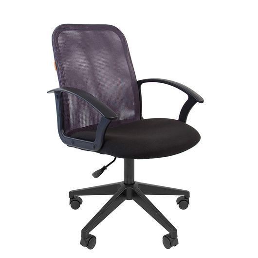Кресло оператора Chairman 615 сетка/ткань серый/черный