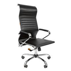 Кресло руководителя Chairman 701 экопремиум черный