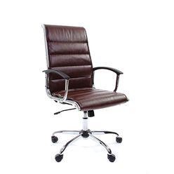 Кресло руководителя Chairman 760 экопремиум коричневый