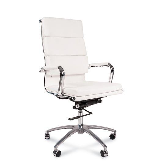 Кресло руководителя Chairman 750 экокожа белый