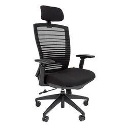 Кресло руководителя Chairman 285 сетка/ткань черный