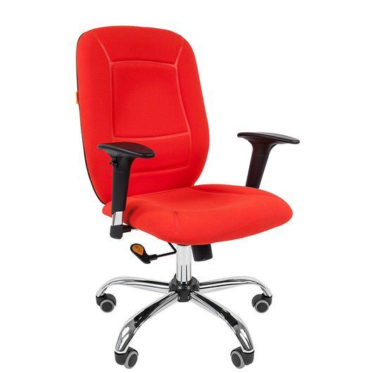 Кресло оператора Chairman 888 ткань красный