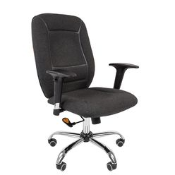 Кресло оператора CHAIRMAN 888 ткань серый