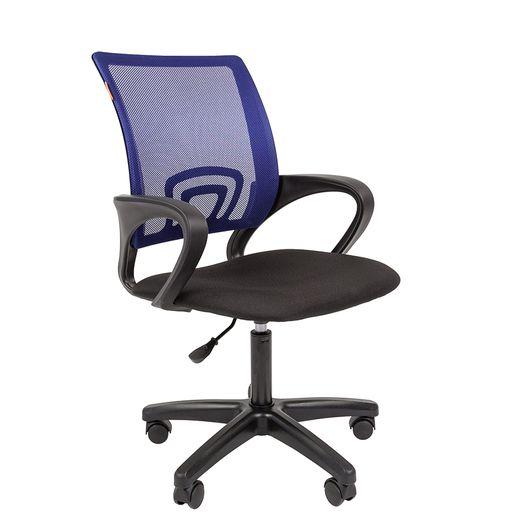 Кресло оператора Chairman 696 LT сетка/ткань синий/черный