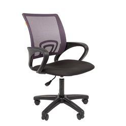 Кресло оператора CHAIRMAN 696 LT сетка серая/ткань черная